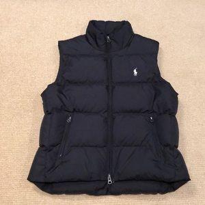 Ralph Lauren Sport Down Vest Black